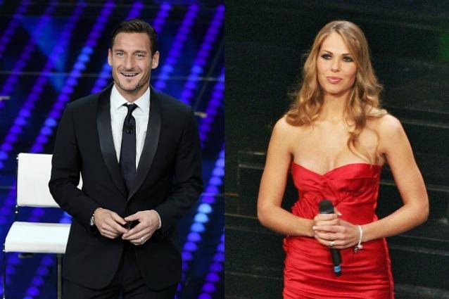 """Totti e Ilary Blasi alla conduzione di Sanremo 2018, Fabiano: """"Interessante, vediamo"""""""