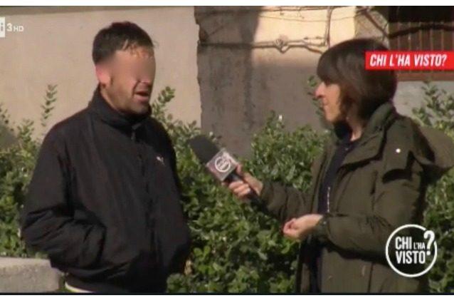 """'Chi l'ha visto' indaga su Giusy Ventimiglia e un passante urla: """"Non la troverete, nessuno parlerà"""""""