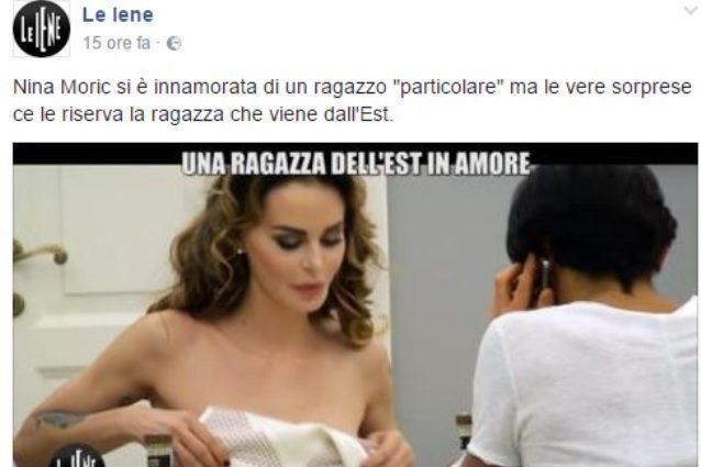 """Nina Moric: """"Lo scherzo de Le Iene fu uno scempio, è stato riproposto per punire un mio no"""""""
