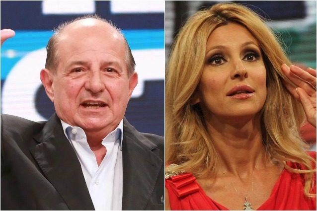 """Magalli ad Adriana Volpe: """"Parli a sproposito"""", lei: """"Vergognoso offendere una donna"""""""
