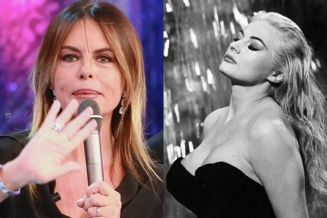 """""""Anita Ekberg donna dell'est"""", la gaffe di Paola Perego corretta da Fabio Testi"""