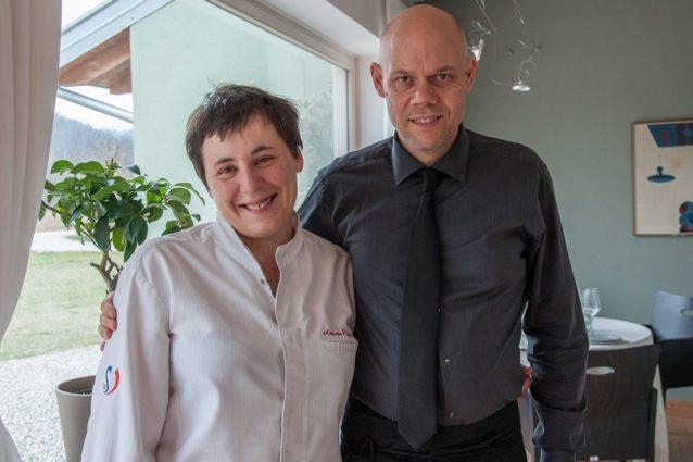 Antonia Klugmann con romano De Feo