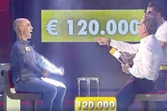 """La storia di Giacomo, il concorrente disoccupato che ha vinto 120mila euro ad """"Avanti un altro"""""""