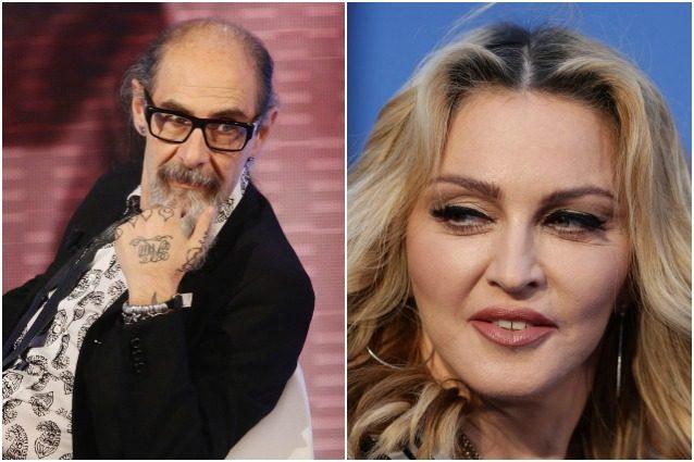 """Roberto D'Agostino: """"Madonna si arrabbiò perché le dissi che non sapeva cantare"""""""