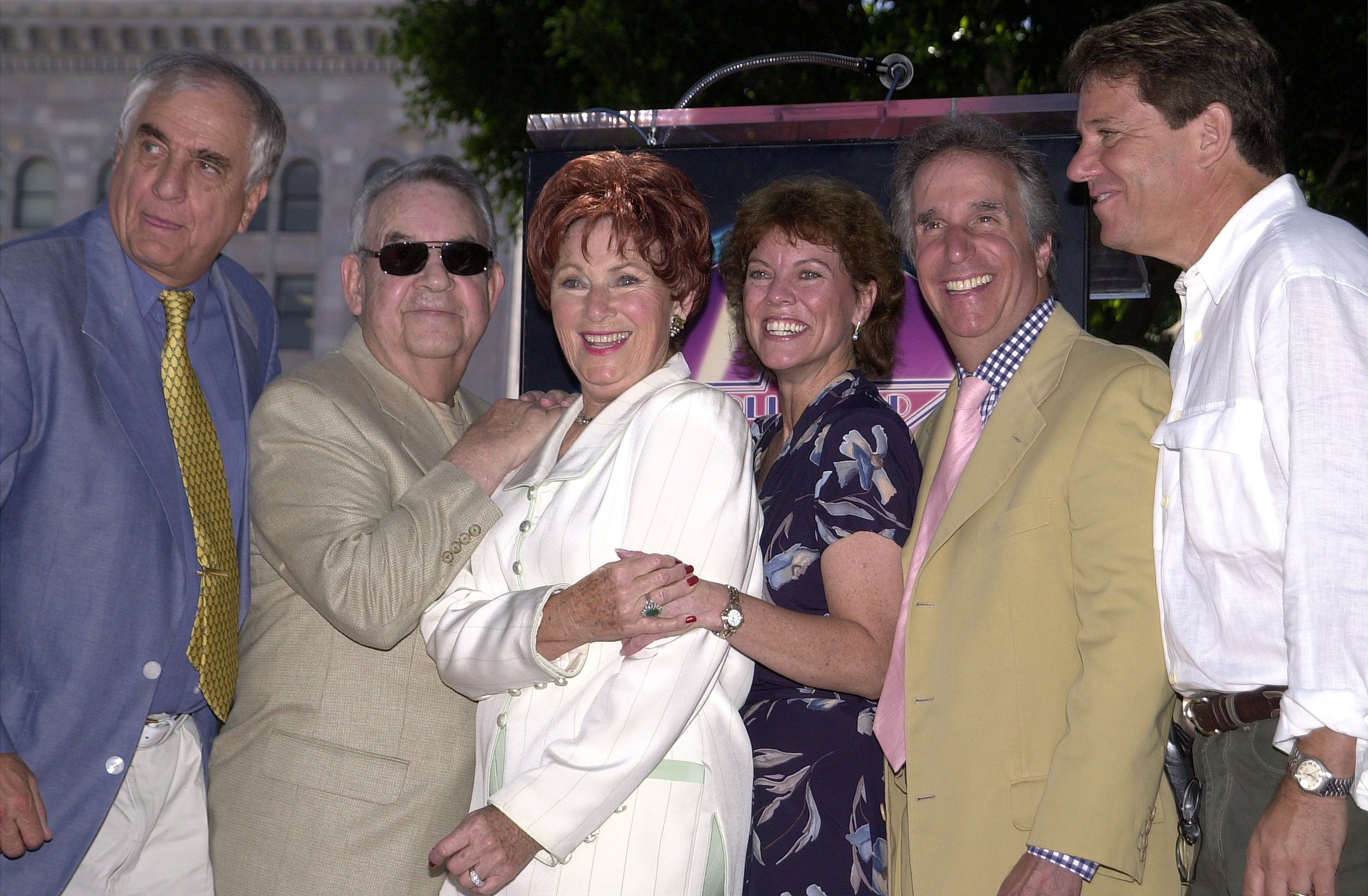La reunion del cast di Happy Days nel 2008