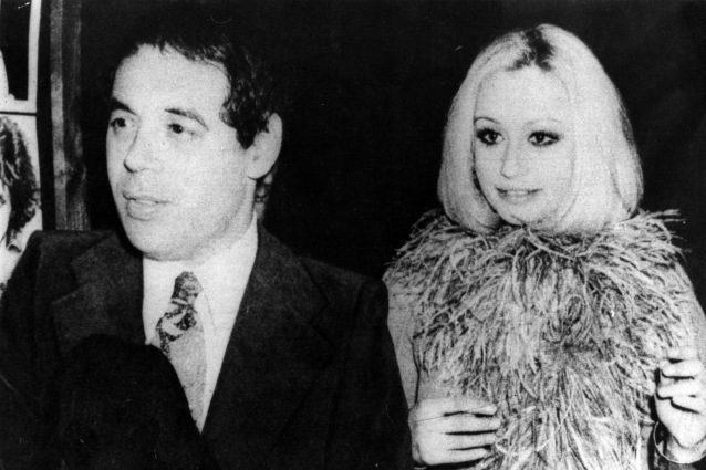 Gianni Boncompagni con Raffaella Carrà