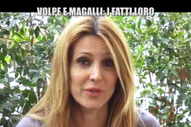 """Lo sfogo di Adriana Volpe: """"La Rai tollera i comportamenti di Magalli"""""""