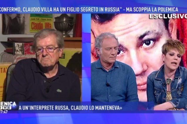 """""""Claudio Villa ha un altro figlio in Russia: è un ingegnere e lui lo ha sempre mantenuto"""""""