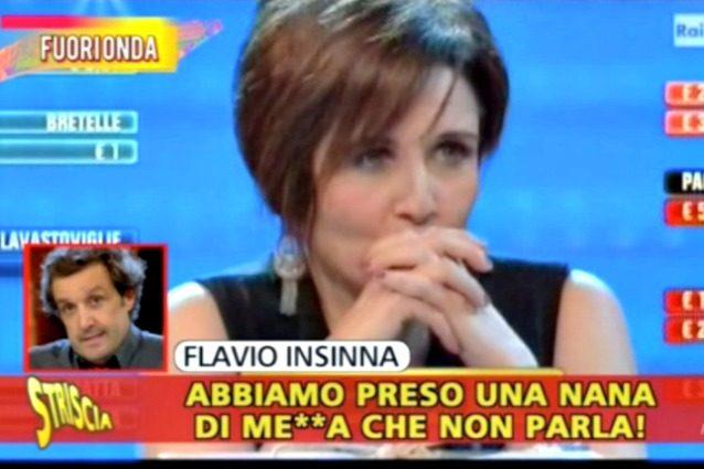 """La concorrente insultata da Flavio Insinna: """"Offesa in pubblico, forse lo denuncerò"""""""