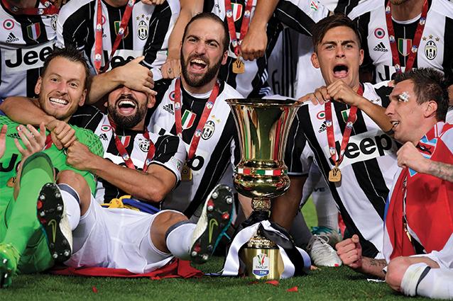 La Juventus vince la Coppa Italia e la gara degli ascolti tv