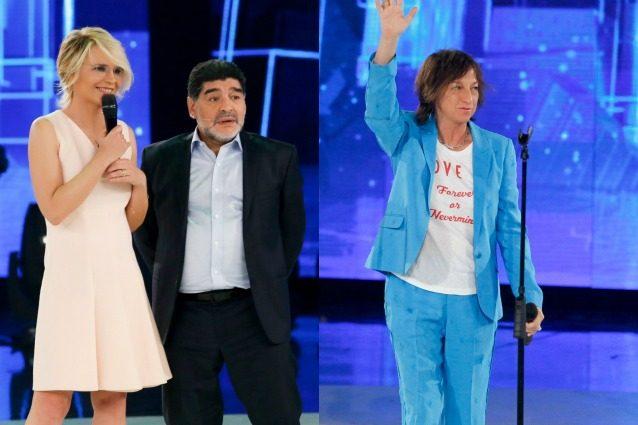 Ospiti della settima puntata Maradona, Nannini, Ventura, Lenny e Amy Macdonald