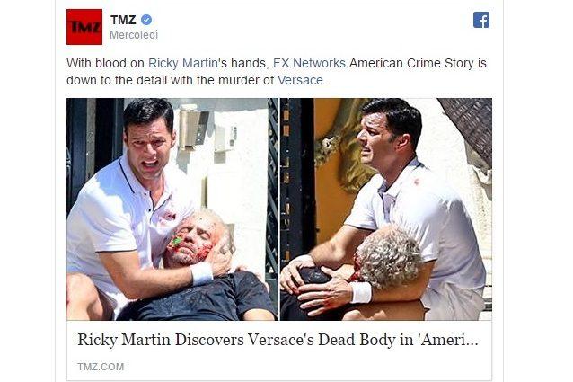 Gianni Versace morente tra le braccia di Ricky Martin nella serie sulla morte dello stilista