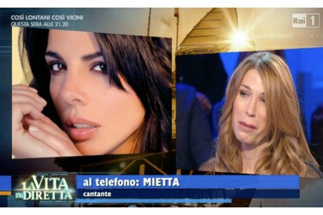 """""""Un angelo sulla terra"""": quando Mietta parlò di Sveva Cardinale, l'ex 'veggente' Paolo Catanzaro"""