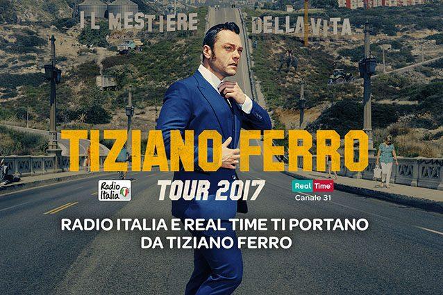 Tiziano Ferro in un'intervista esclusiva per Real Time