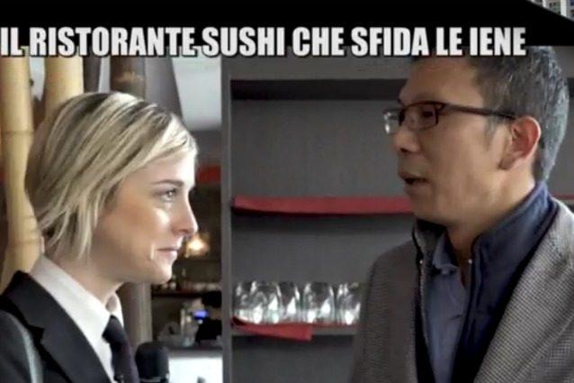 """'All you can eat' sfida Le iene e dimostra la qualità del sushi, Feng: """"Dopo il servizio ho avuto paura"""""""