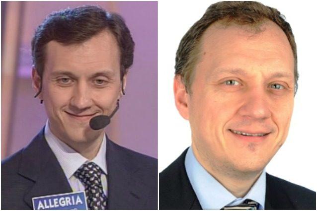 """Il concorrente di """"Sarabanda"""" David Guarnieri."""