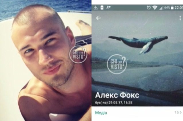Alex Pavlenko scompare da Napoli, sul suo profilo WhatsApp la foto di una balena blu