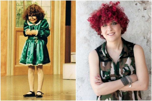 Morgana Giovannetti ieri e oggi.