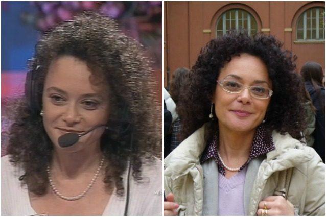 "La Professora di ""Sarabanda"" ieri e oggi."