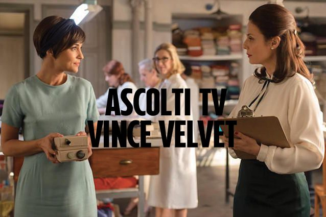 Ascolti tv di giovedì 27 luglio  2017, stravince Velvet