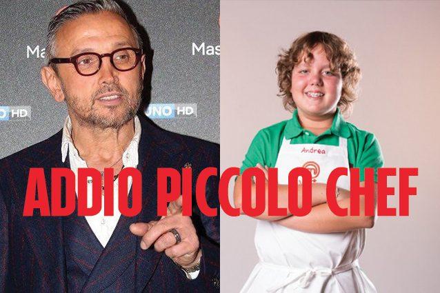 """Bruno Barbieri ricorda Andrea: """"Ora farai lo chef con gli angeli del paradiso"""""""