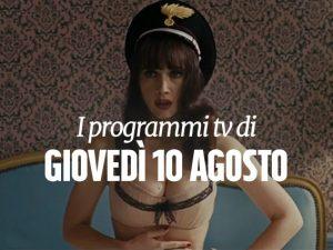 Chiara Francini in Soap Opera su Canale 5.