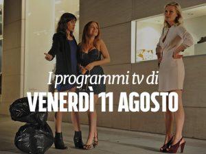 Una scena di The wedding party su Italia 1.