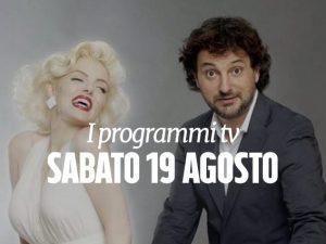 Il film di Pieraccioni tra i programmi di stasera in tv.
