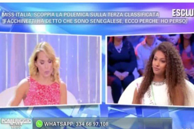 """Barbara D'Urso come Facchinetti, gaffe con Samira Lui: """"Di dove sei?"""""""