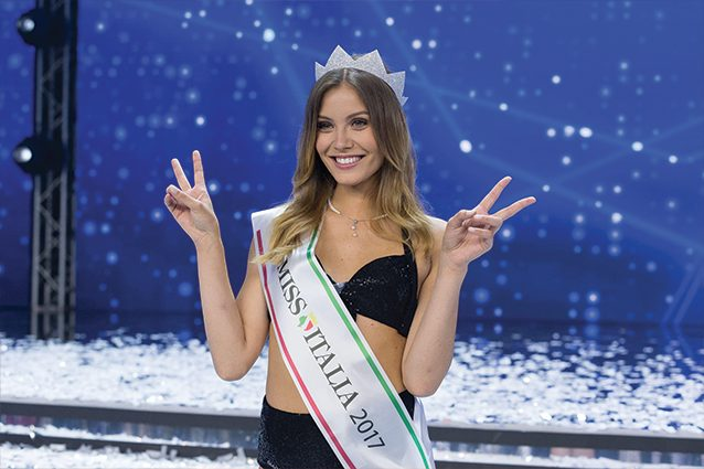 Miss Italia 2017 è la bionda Alice Rachele Arlanch