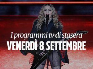 Il concerto di Madonna su Canale 5.