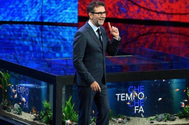 """Che tempo che fa, Fabio Fazio replica ai vegani: """"Tranquilli, i pesci nell'acquario stanno benissimo"""""""