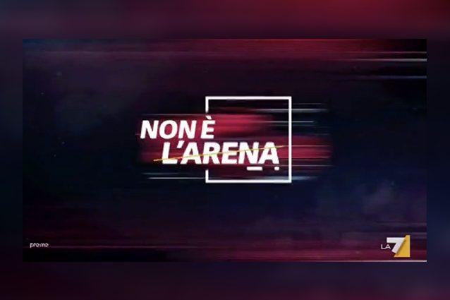 """""""Non è L'Arena"""" è il titolo del programma di Massimo Giletti su La7"""