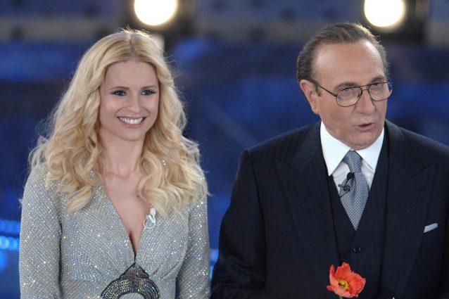 Sanremo 2018, Michelle Hunziker verso l'Ariston: