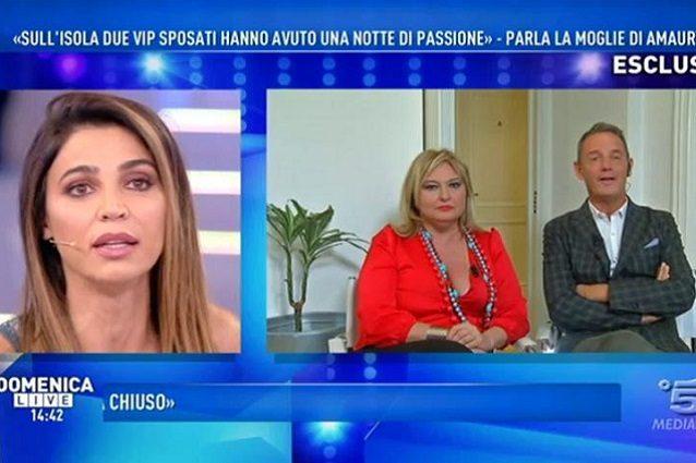Cecilia Capriotti ipnotizzata da Giucas Casella