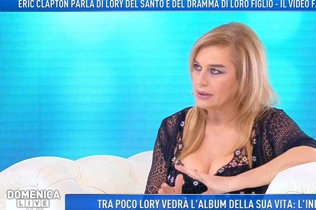 Lory Del Santo, mai ripresa dalla morte di Conor