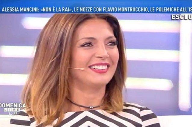 Cecilia Capriotti e Alessia Mancini, lite al trucco a Domenica Live