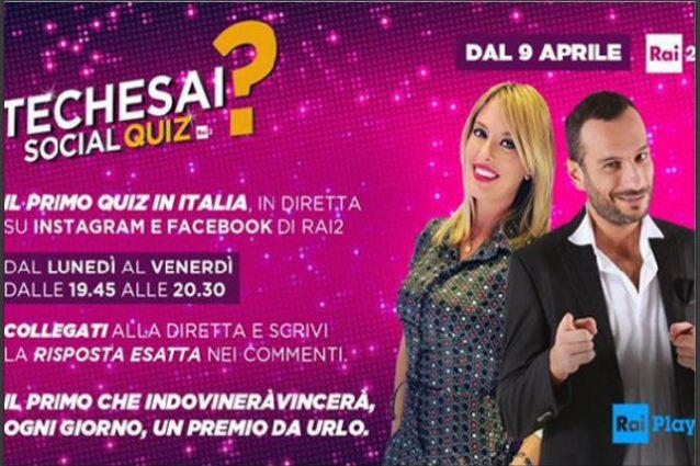 Gli eventi stasera sabato 7 aprile in onda su Rai e Mediaset