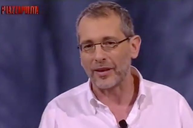 Corrado Formigli umilia Enrico Mentana a Piazzapulita: il duro attacco Video