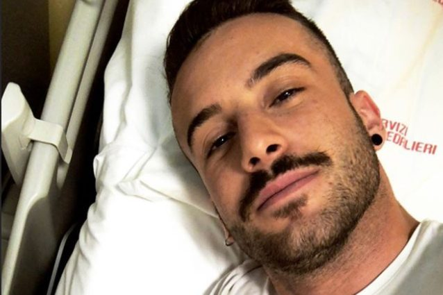 Amici, anche Andreas Muller in ospedale: