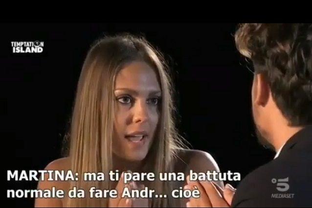 Temptation Island, Martina Sebastiani: sfogo dopo il falò
