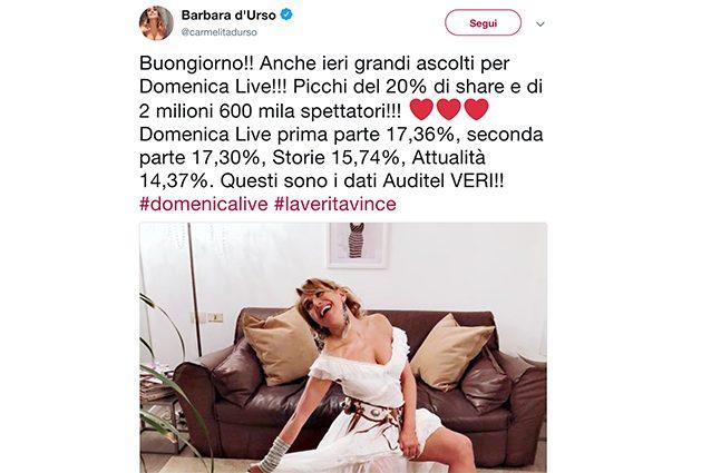 Mara Venier conferma la lite con Barbara d'Urso: la risposta piccata