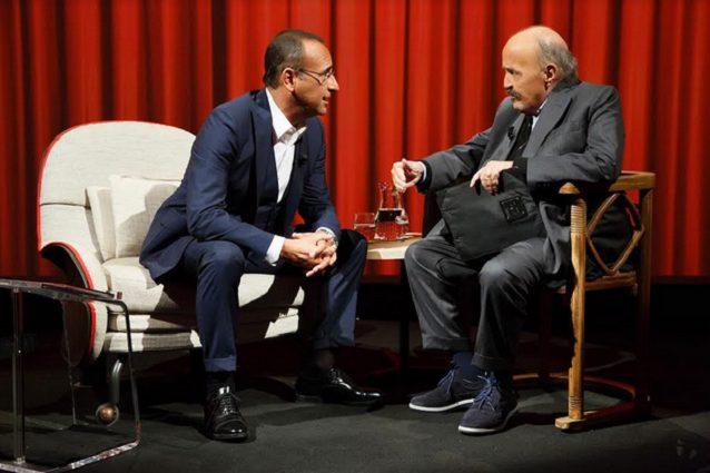 Il dramma di Carlo Conti: in lacrime a L'Intervista