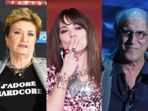 """Caso molestie Asia Argento, Mara Maionchi replica ad Adriano Celentano: """"Ormai ha la sua età"""""""