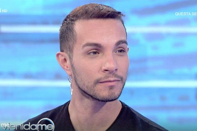 Marco Carta piange in tv: Caterina Balivo crolla in diretta