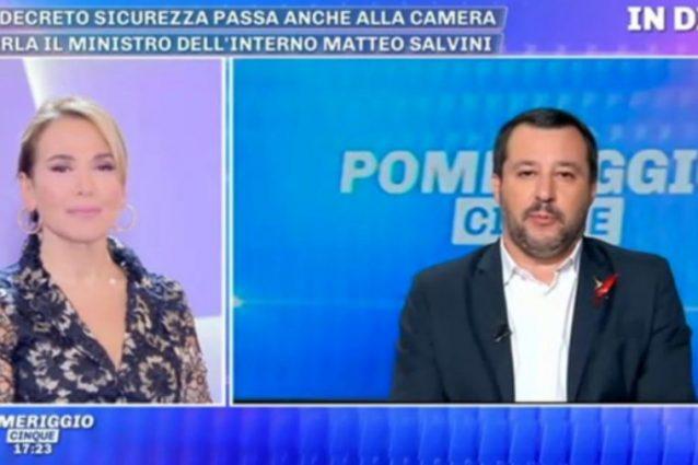 Matteo Salvini difende la sua ex fidanzata Elisa Isoardi: