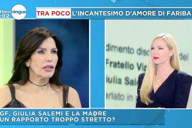 Grande Fratello Vip, la madre di Giulia Salemi al vetriolo:
