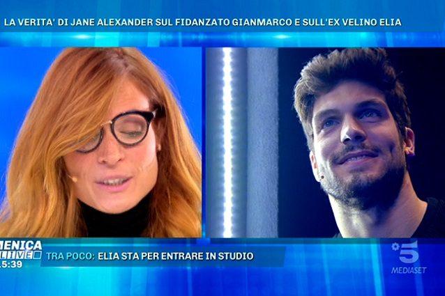 Jane Alexander piange a Verissimo per l'ex fidanzato Gianmarco