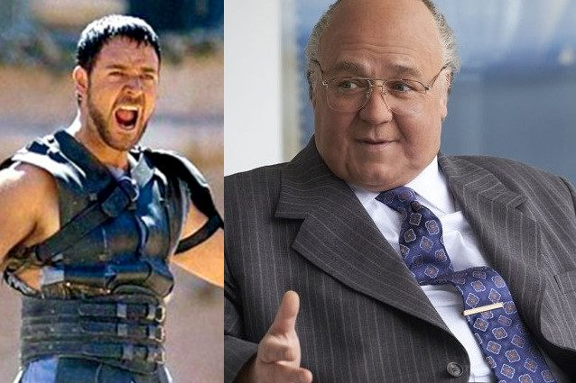 Russell Crowe grasso e...