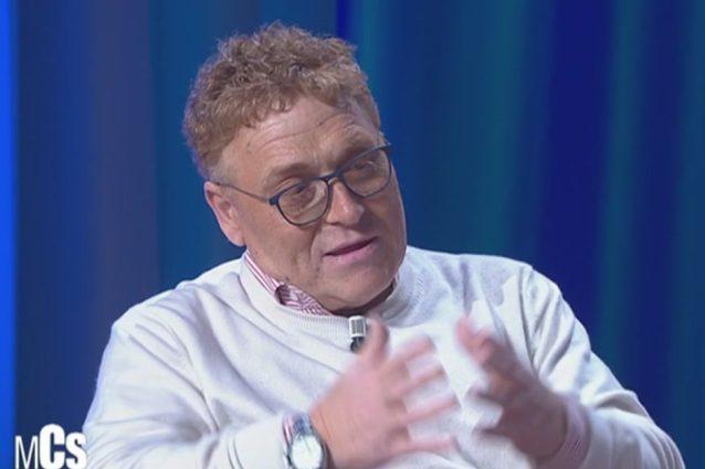 Maurizio Costanzo Show, Fabrizio Bracconeri e il figlio autistico. Poi attacca Brosio